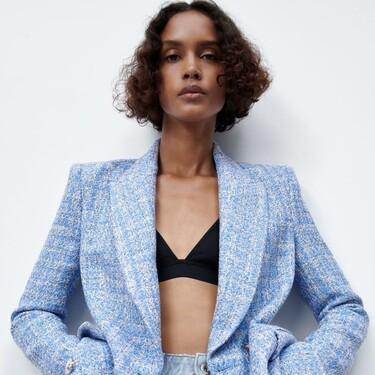 Zara tiene las blazers y chaquetas de tendencia más bonitas de la temporada para lucir lookazos en primavera