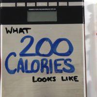 Conoce cuánto alimento son 200 calorías