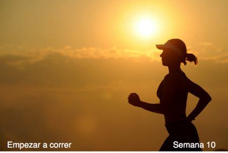 Entrenamiento para empezar a correr: semana 10