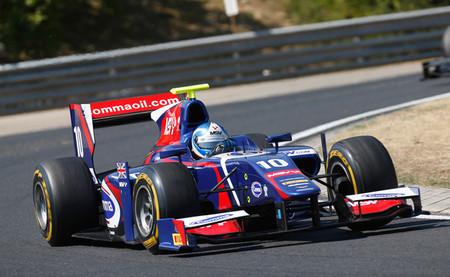 Jolyon Palmer y Nathanaël Berthon ganan en Hungaroring