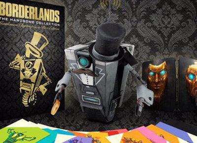¡Nueva edición de colección! Borderlands: The Handsome Collection Gentleman Claptrap in a Box Edition