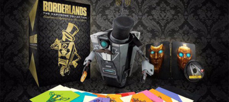 ¡Nueva edición de colección! Borderlands: The Handsome Collection Gentleman Claptrap in a Box Edition