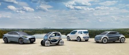 Renault en el Salón de Fráncfort 2009: la fiesta de los eléctricos