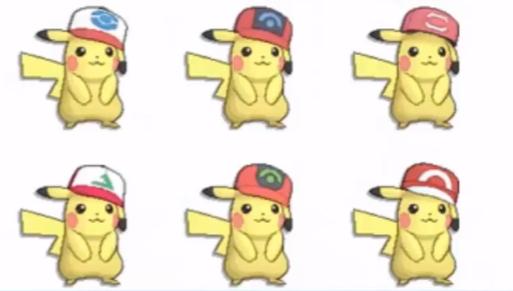 Pokemon Sol Luna Pikachu Ash