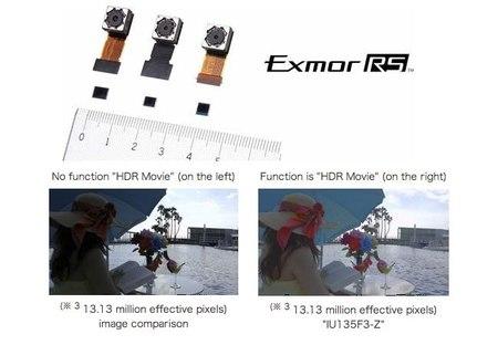 Sony anuncia tres nuevos sensores Exmor RS para smartphones