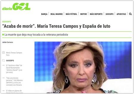 Acaba De Morir Maria Teresa Campos Y Espana De Luto Google Chrome 2019 10 10 17 28 45