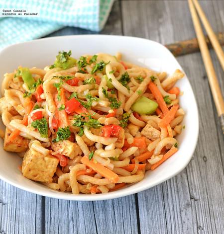 Noodles Tofu