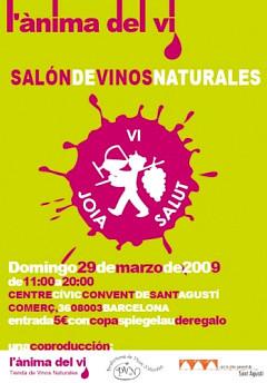 Salón de Vinos naturales en Barcelona, l'Ànima del vi