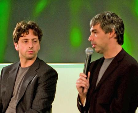 Sergei Brin y Larry Page