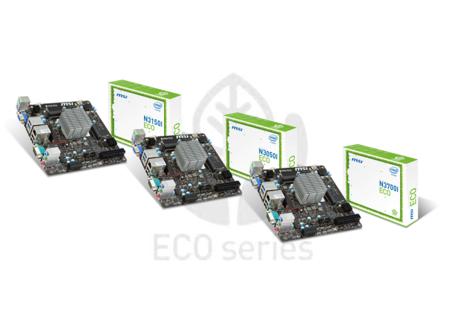 MSI hace un lugar a Intel 'Braswell' en tres motherboards ecológicas