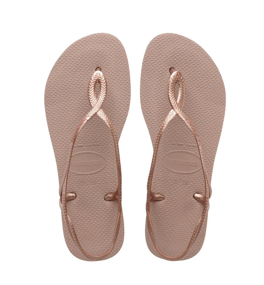Sandalias de playa de mujer Luna Crocus Havaianas