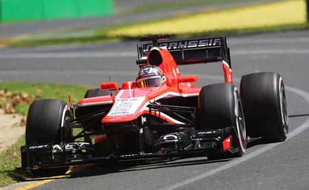 Jules Bianchi debuta como el mejor de los peores
