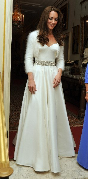 El look de Kate Middleton en la fiesta privada post-Boda Real