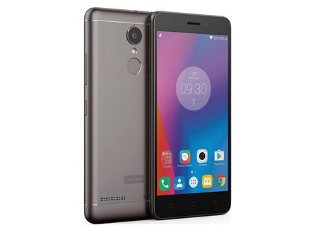6f3870d547b Lenovo K6, llega a México otro smartphone económico, metálico y con sensor  de huellas
