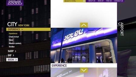 Novedoso hotel de Yotel en Nueva York