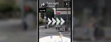 Cómo utilizar la navegación con realidad aumentada de Google Maps