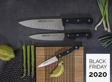 Estos cuchillos de Albacete son los únicos que necesitas para cocinar (y están súper rebajados por el Black Friday)