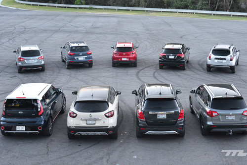 Comparativa: ¡Al ring con 10 de los B-SUV a la venta en México! (III)