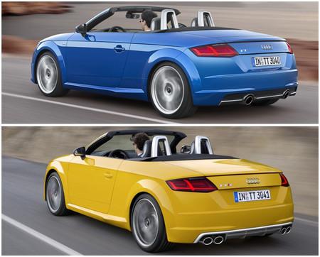 Audi TT Roadster y TTS Roadster 2014