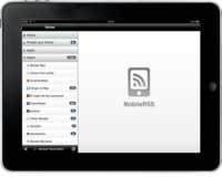 MobileRSS HD, el lector de feeds perfecto para el iPad