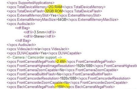 LG G3 aparece en la web de Sprint con cámara de 16 megapíxeles y 2 GB de memoria RAM