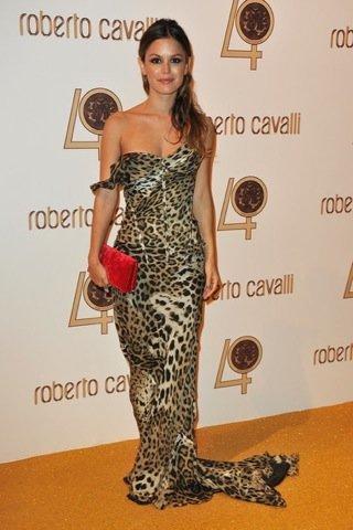 Rachel Bilson Roberto Cavalli fiesta París