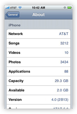 iPhone 4.0 OS, algunos detalles y primera imagen