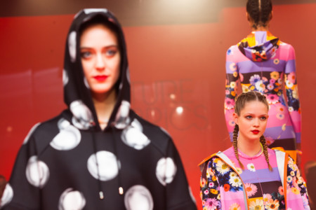 P G Future Fabrics 2015 Giles Deacons Catwalk Show3