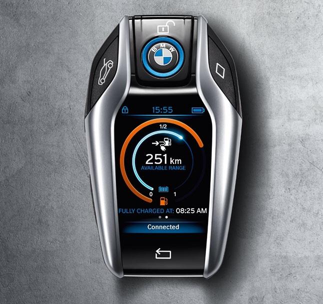 BMW i8 llave