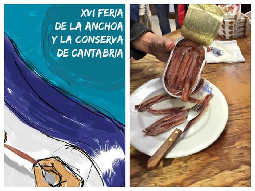 Aprendiendo sobre las anchoas en la Feria de la Anchoa de Santoña