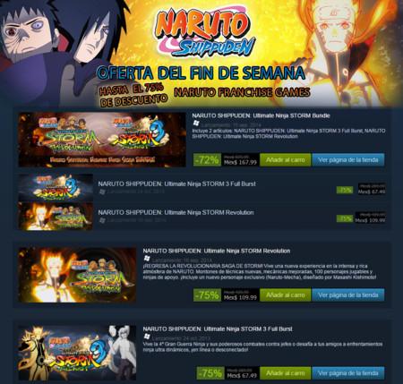 Naruto Shippuden Ofertas