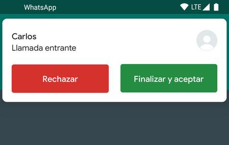 WhatsApp para Android ya permite recibir una llamada mientras estás en otra