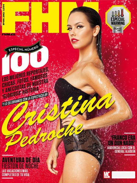Pero qué sexy se pone Cristina Pedroche en FHM
