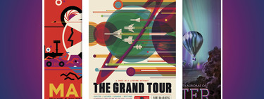 The Grand Tour: el paseo art deco de la NASA por el universo y lo que conocemos de cada parada