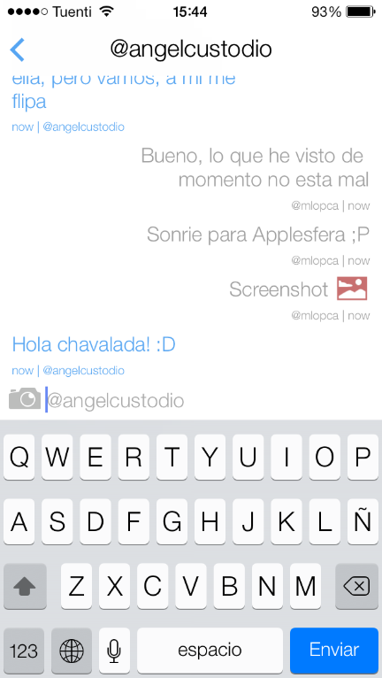 inbox mensajería instantánea