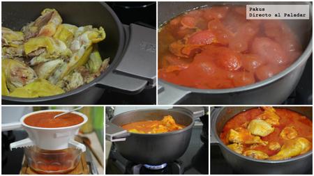 Pollo Tomate Y Cerveza Abuela Pasos