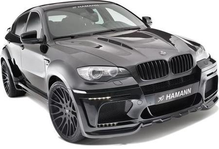 Hamann BMW X6 Tycoon EVO M, 670 CV de negro