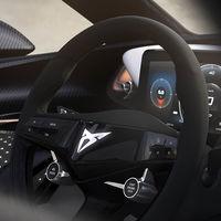 CUPRA muestra los detalles del interior de su primer coche eléctrico: cuadro digital y mucha fibra de carbono