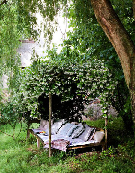 Rincones Lectura Jardin 11