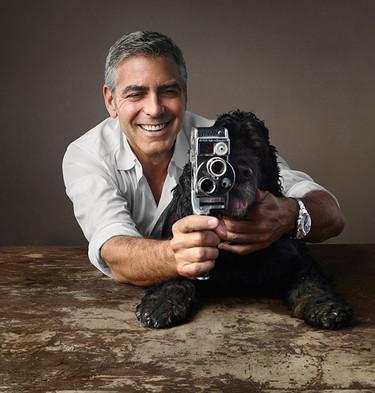 Clooney, Einstein y Omega, un trío vencedor para presentar el reloj Seamaster Aqua Terra