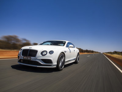 Un Bentley Continental GT Speed, una recta de casi 3.000 km y el resto ya te lo imaginas