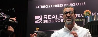 Quique Dacosta deslumbra con sus nuevos platos, con la sal como protagonista (Madrid Fusión 2018 II)