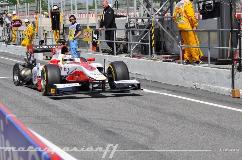 Foto de GP2 2013 Barcelona (84/138)