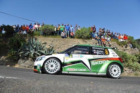 Rally Islas Canarias 2011: Jan Kopecky manda en un primer día loco
