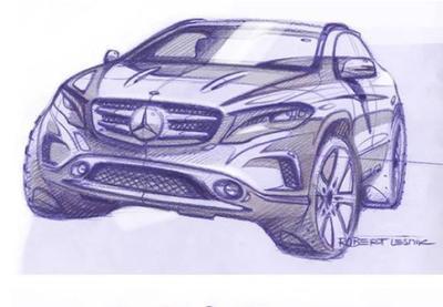 Mercedes-Benz comienza a desnudar el nuevo GLA