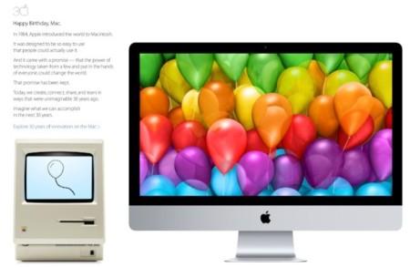 Treinta años de innovación. Apple celebra el cumpleaños del Macintosh