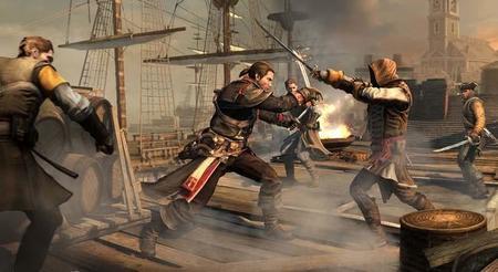 Assassin's Creed Rogue con mucha acción en su nuevo video