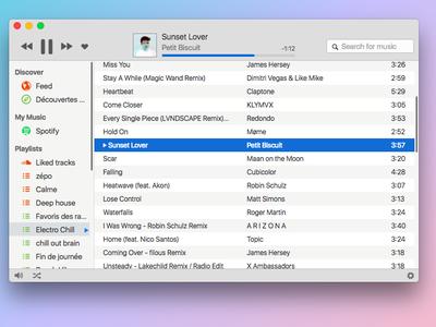 Un reproductor ligero y minimalista para escuchar Spotify, Soundcloud, Google Play Music y más desde un mismo lugar