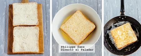 Sandwich Capeado Huevo Jamon Queso Receta