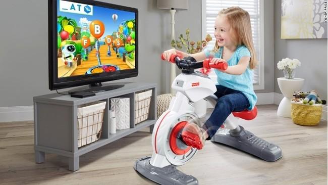 Una bicicleta estática para niños, ¿realmente es una buena idea?